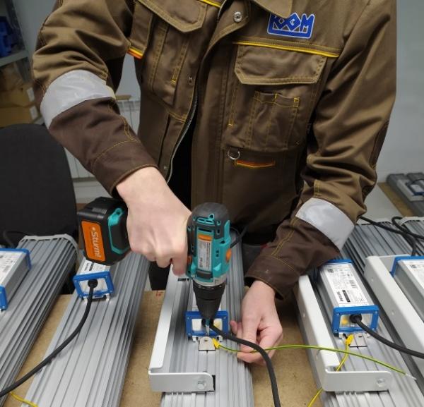 «Коксохим-Электромонтаж» поставляет светодиодное освещение на крупнейшие индустриальные объекты