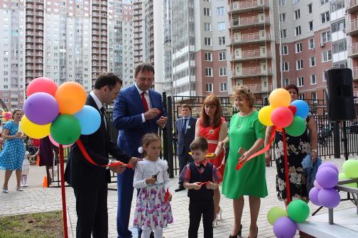 «Эталон-Инвест»  открыла новый детский сад в «Изумрудных холмах»